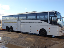 65 Seat Luxury Supersize Tri Axle Coach (Ashlee)