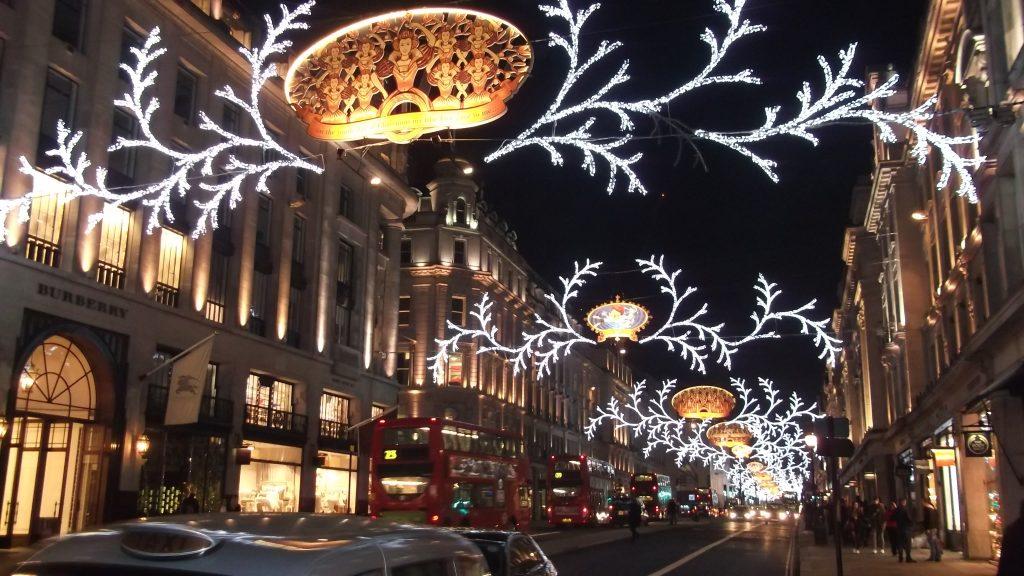 Hampstead and the Christmas Lights