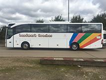 Luxury 53 Seat Mercedes Tourismo Tour Coach