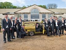 Del Boy Trotters Independent Traders Three Wheel Van